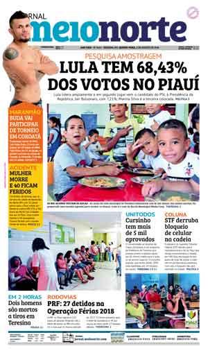 Jornal Meio Norte do dia 2-08-2018