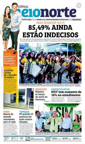 Jornal Meio Norte do dia 3-08-2018
