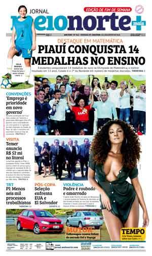Jornal Meio Norte do dia 4-08-2018