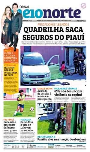 Jornal Meio Norte do dia 8-08-2018