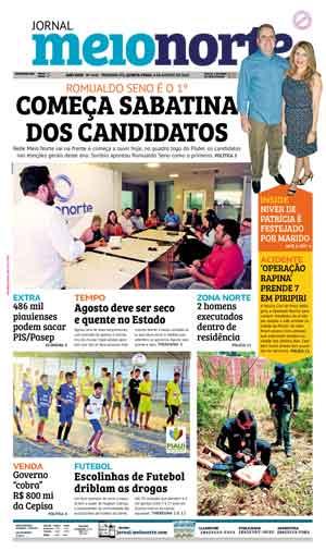 Jornal Meio Norte do dia 9-08-2018