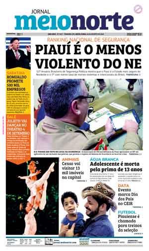 Jornal Meio Norte do dia 10-08-2018