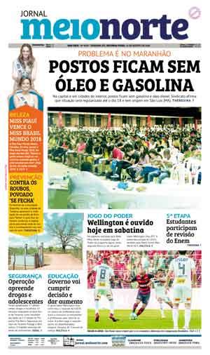 Jornal Meio Norte do dia 13-08-2018