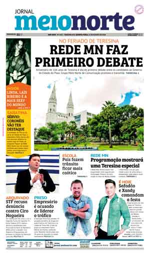 Jornal Meio Norte do dia 15-08-2018