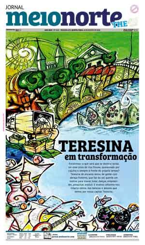Jornal Meio Norte do dia 16-08-2018