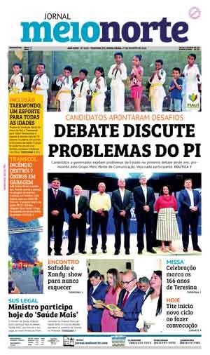 Jornal Meio Norte do dia 17-08-2018