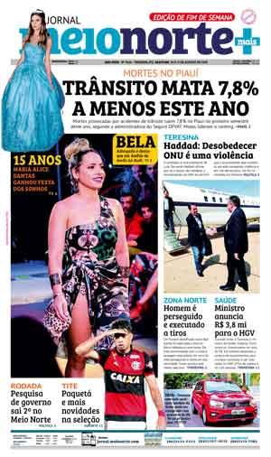 Jornal Meio Norte do dia 18-08-2018
