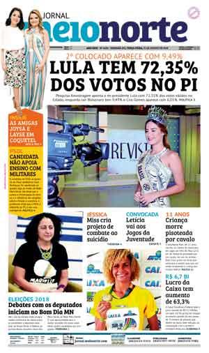 Jornal Meio Norte do dia 21-08-2018