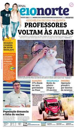 Jornal Meio Norte do dia 24-08-2018