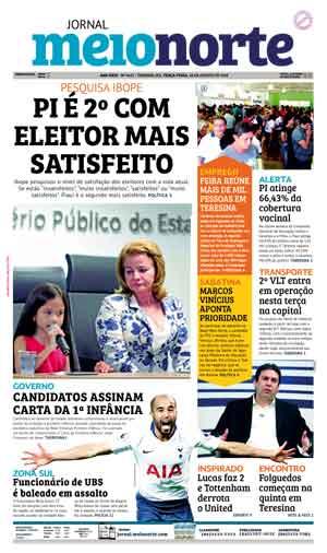 Jornal Meio Norte do dia 28-08-2018