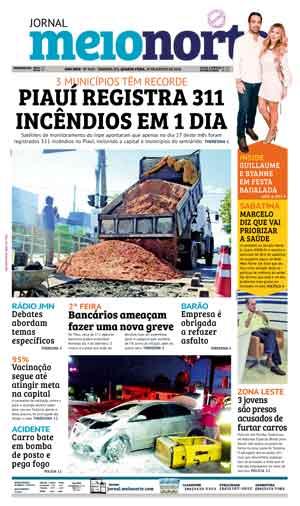 Jornal Meio Norte do dia 29-08-2018