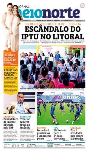 Jornal Meio Norte do dia 11-09-2018