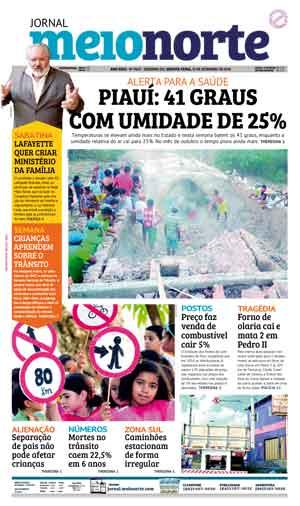 Jornal Meio Norte do dia 19-09-2018