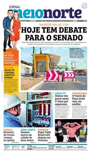 Jornal Meio Norte do dia 26-09-2018