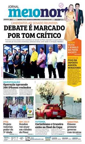 Jornal Meio Norte do dia 27-09-2018