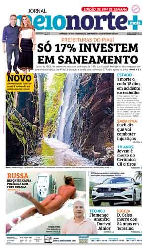 Jornal Meio Norte do dia 29-09-2018