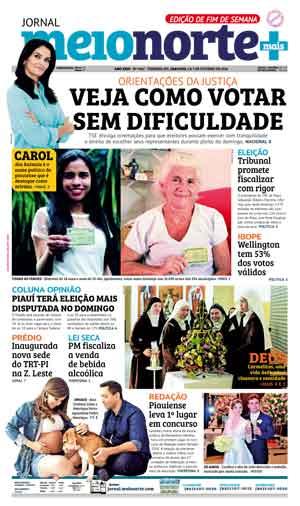 Jornal Meio Norte do dia 6-10-2018