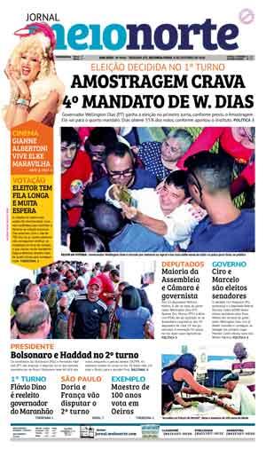 Jornal Meio Norte do dia 8-10-2018