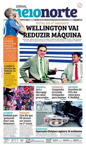 Jornal Meio Norte do dia 9-10-2018