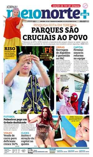 Jornal Meio Norte do dia 13-10-2018