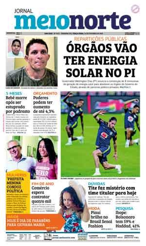 Jornal Meio Norte do dia 16-10-2018