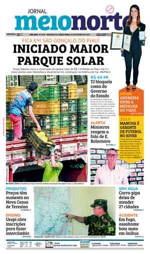 Jornal Meio Norte do dia 23-10-2018