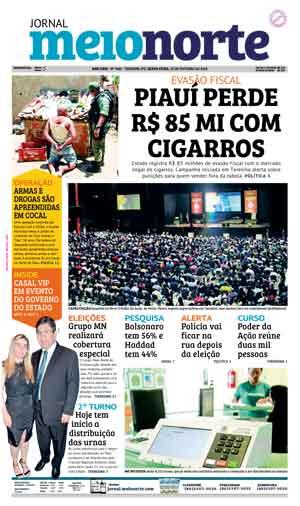 Jornal Meio Norte do dia 26-10-2018