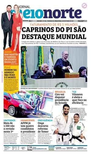 Jornal Meio Norte do dia 30-10-2018