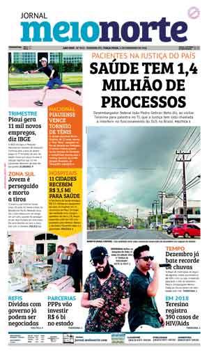 Jornal Meio Norte do dia 4-12-2018