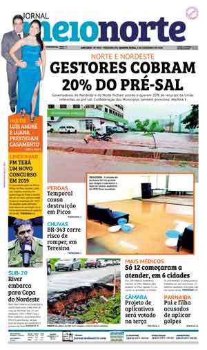 Jornal Meio Norte do dia 5-12-2018