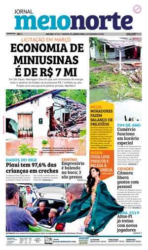 Jornal Meio Norte do dia 6-12-2018