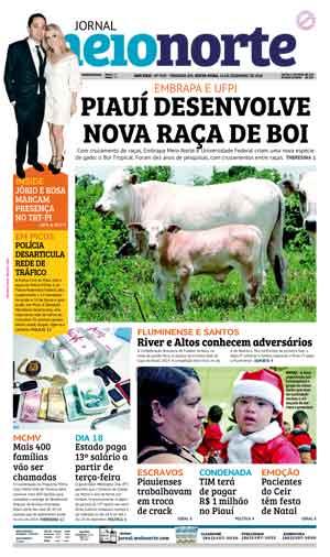 Jornal Meio Norte do dia 14-12-2018