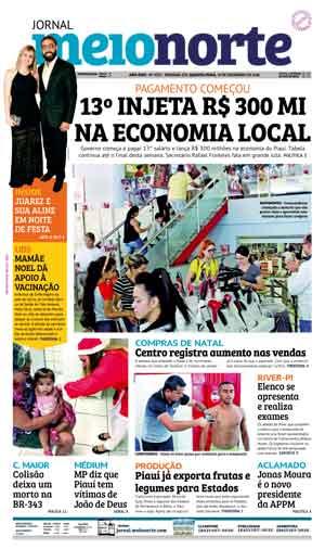 Jornal Meio Norte do dia 19-12-2018