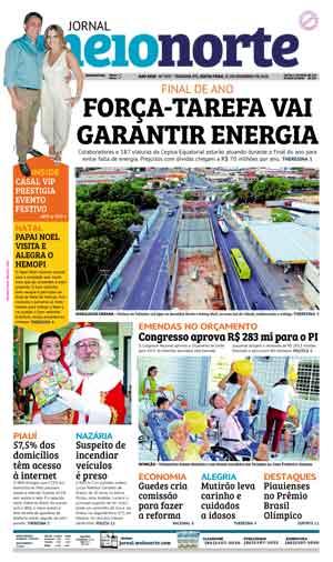 Jornal Meio Norte do dia 21-12-2018