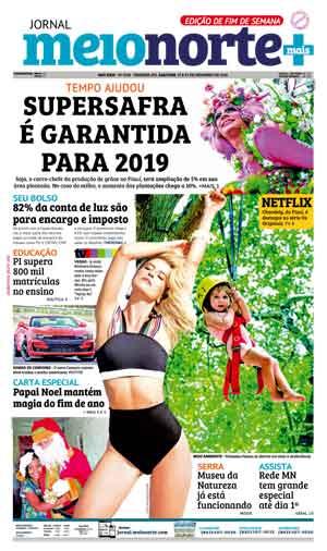 Jornal Meio Norte do dia 22-12-2018