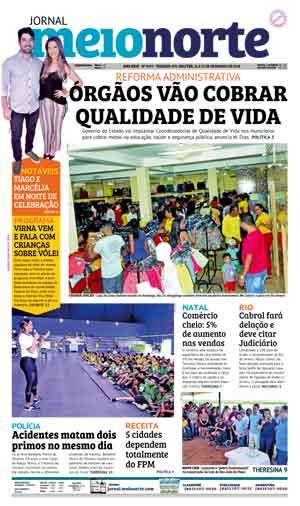 Jornal Meio Norte do dia 24-12-2018