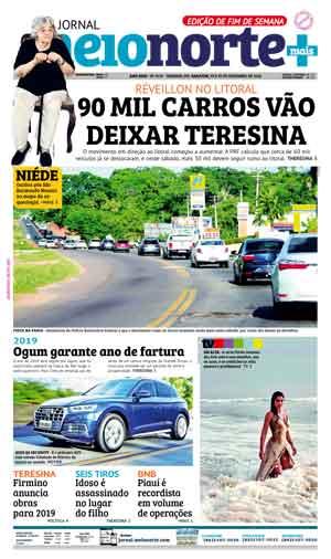 Jornal Meio Norte do dia 29-12-2018