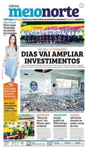 Jornal Meio Norte do dia 31-12-2018