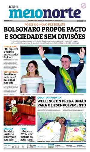 Jornal Meio Norte do dia 2-01-2019
