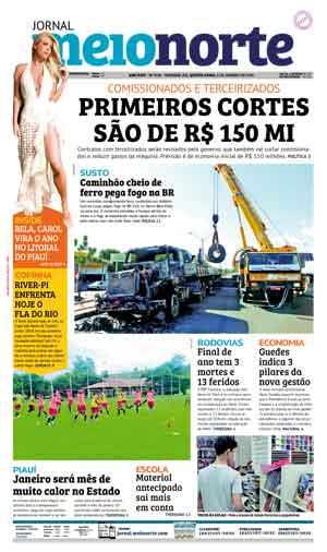 Jornal Meio Norte do dia 3-01-2019