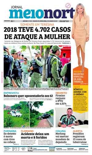Jornal Meio Norte do dia 4-01-2019