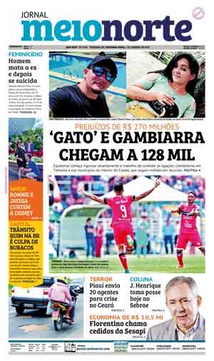 Jornal Meio Norte do dia 7-01-2019