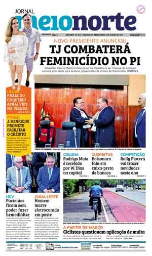 Jornal Meio Norte do dia 8-01-2019