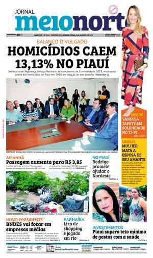 Jornal Meio Norte do dia 9-01-2019
