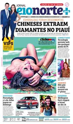 Jornal Meio Norte do dia 12-01-2019