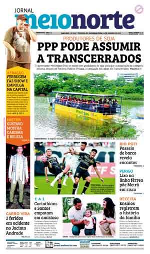 Jornal Meio Norte do dia 14-01-2019