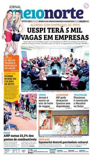 Jornal Meio Norte do dia 15-01-2019