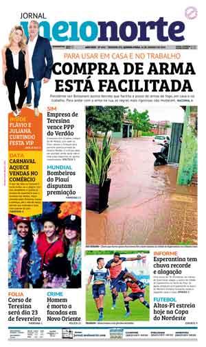 Jornal Meio Norte do dia 16-01-2019