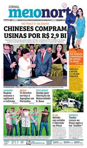 Jornal Meio Norte do dia 17-01-2019