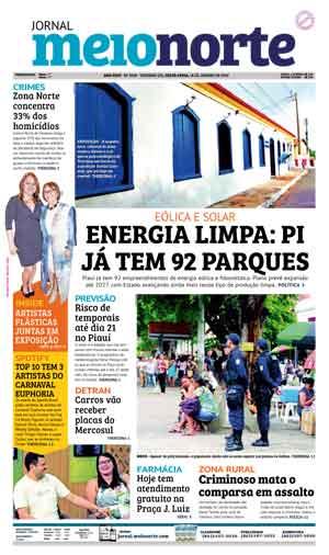 Jornal Meio Norte do dia 18-01-2019